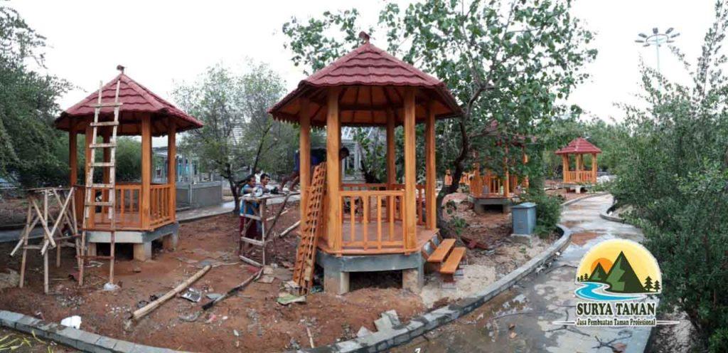jasa pembuatan saung gazebo